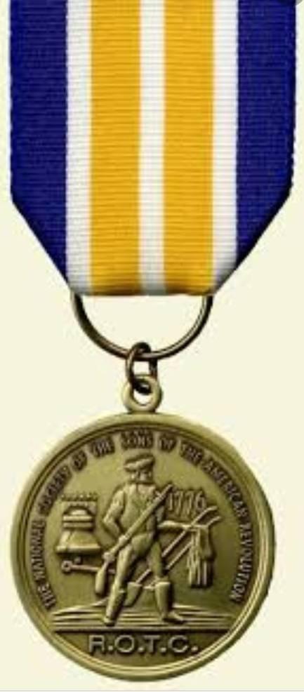 Barnegat Cadet Jorge Ramos Presented with Sons of American Revolution JROTC Medal