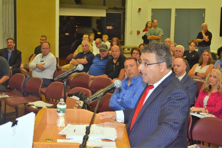 Attorneys Duke It Out at Cell Tower Public Hearing