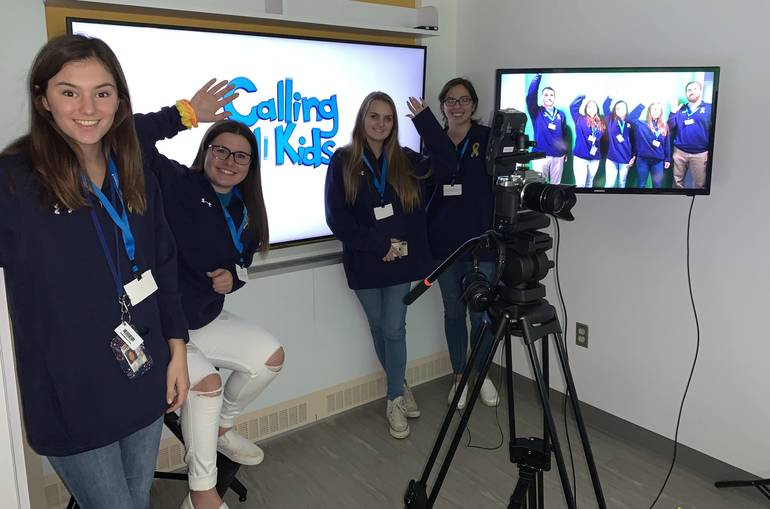 Calling All Kids promo video and small group on tours of studio.jpg