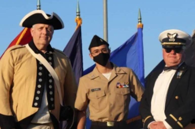 Cadet Jorge Ramos, Sons of American Revolution JROTC Medal.jpg