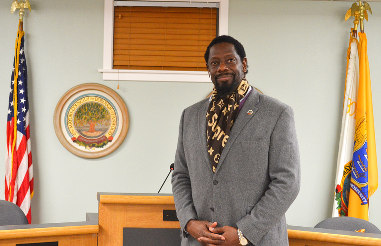 Fanwood Council President Anthony Carter