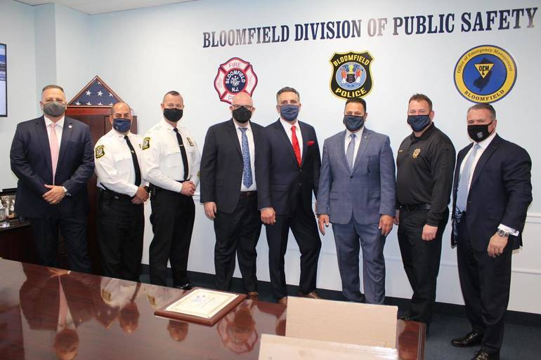 Five Retire From Bloomfield Police Department