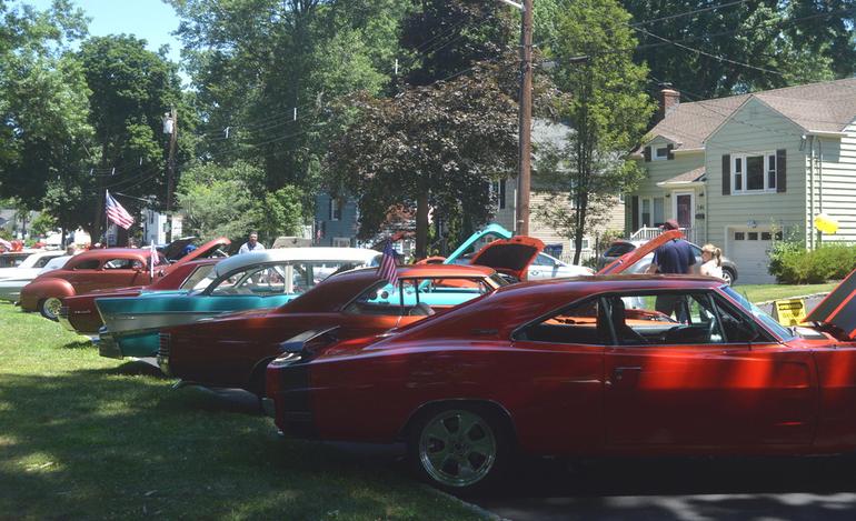 Car Show at Fanwood Summer Fan Jam