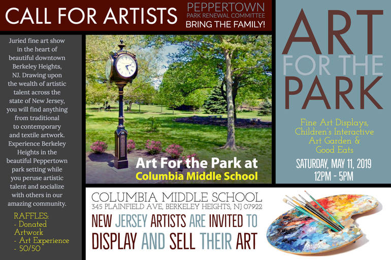 Call for Artists Art For The Park 2nd Annual 2019.jpg