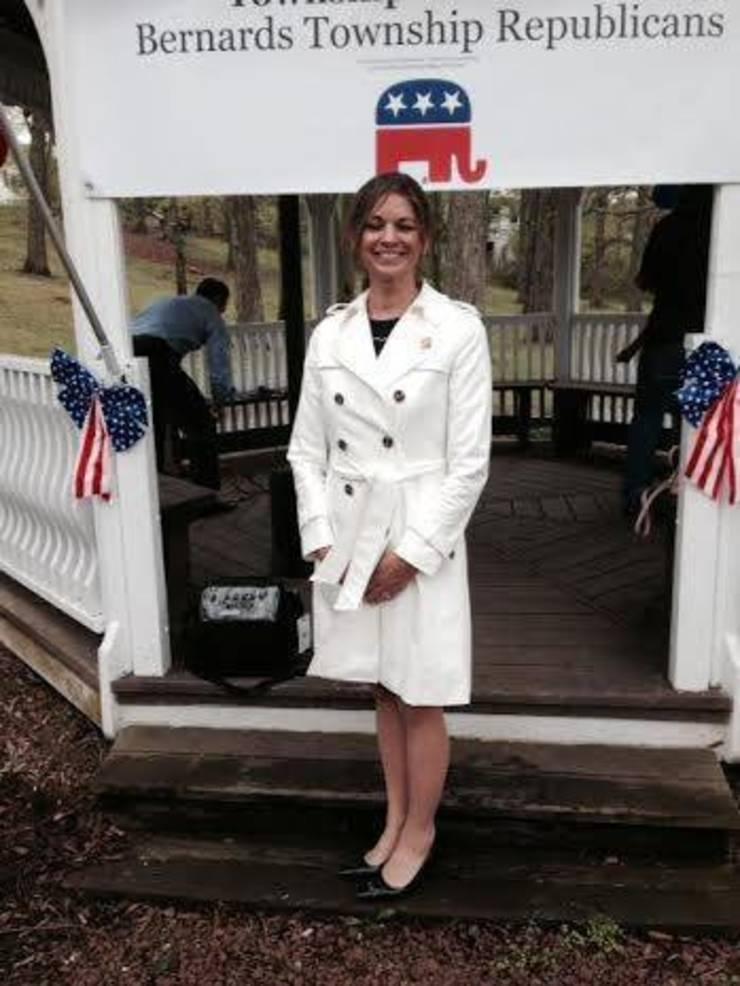 Carol Bianchi campaigning in 2016