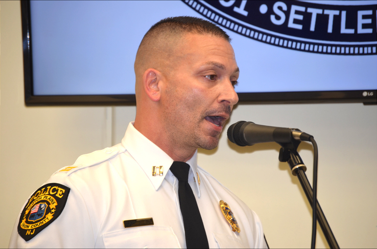 Captain Joseph Zito of the Scotch Plains police department retired on Feb. 1, 2021.
