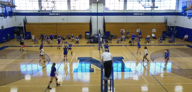 Girls Volleyball: Caldwell Rallies to Defeat Millburn, 2-1