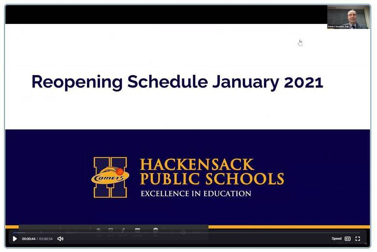 Hackensack Administrators Address Scheduling for District's Reopening