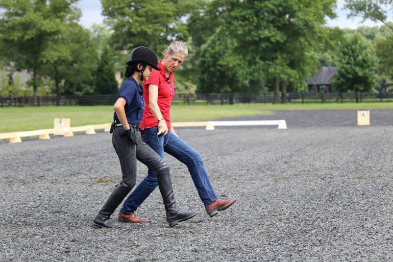 Caiden Ridgway and Felicitas von Neumann-Cosel on the ground SHHMC 2018 photo Kadie Walmer.JPG