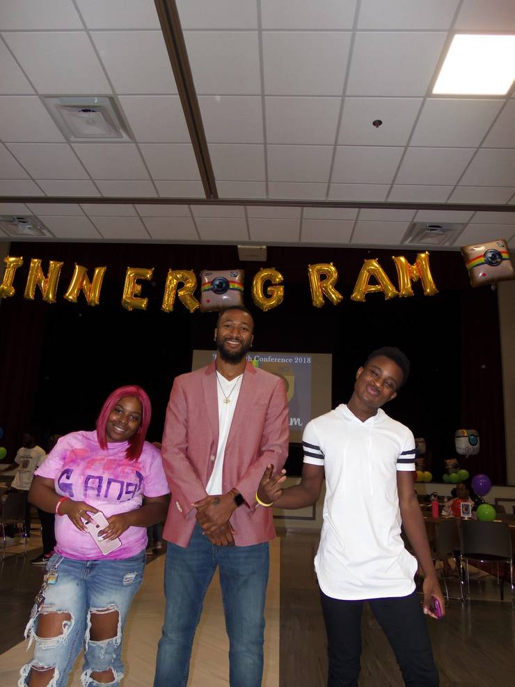 At-risk Youth Hear Story of Challenges and Success at Annual Conference