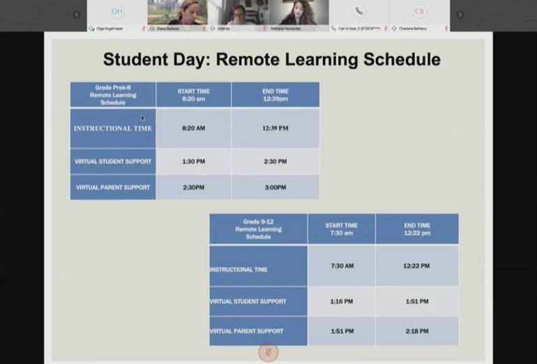 EPS Remote Learning Schedule