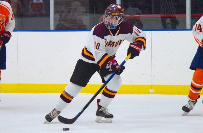 Caroline Sharpe Hat Trick Powers Summit H.S. Girls Ice Hockey's Season-Opening Win Over Trinity Hall, 7-1