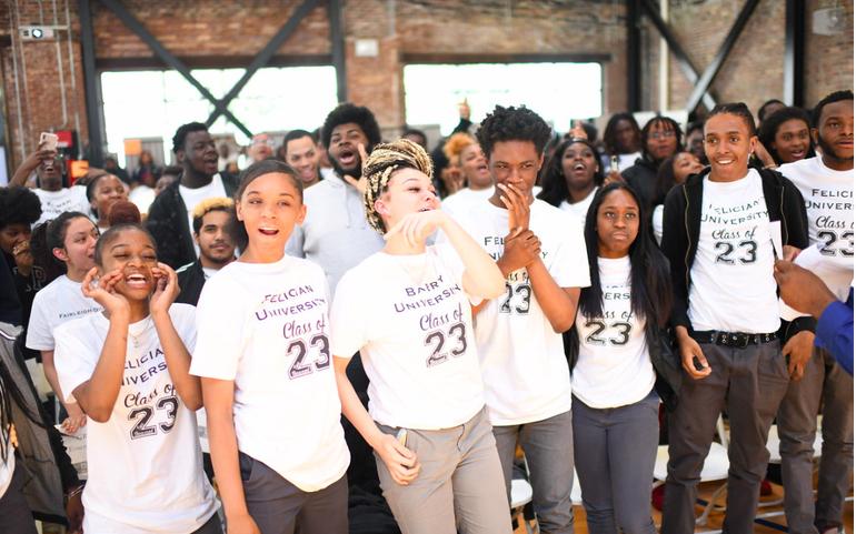 Newark High School Students Celebrate Over 850 College Acceptances