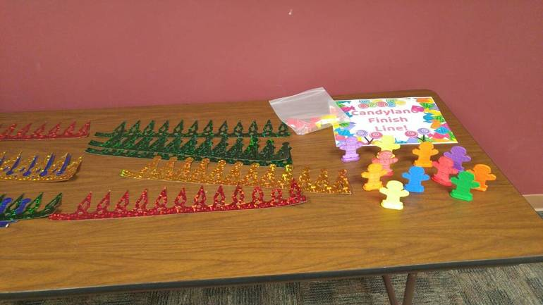 """""""Life Size Candyland Game"""" Held at Clark Public Library Last Week"""