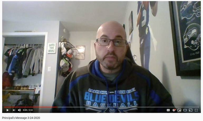 Capture 2020 WRHS Joe Sutera video clip principal's message.JPG