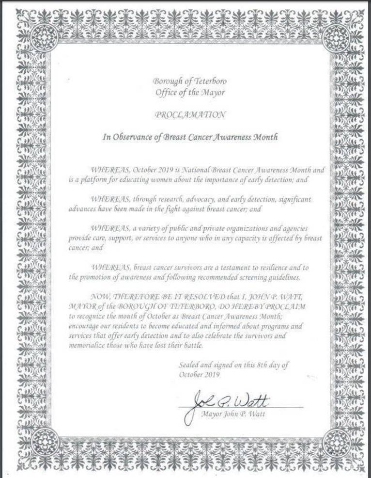 Capture Breast Cancer Awareness proclamation.JPG