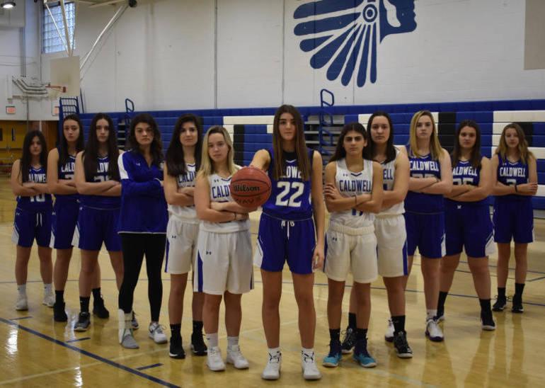 caldwell girls basketball team photo courtesy of Brielle Guarente.jpg