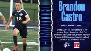 Brandon Castro Named March Crusader of the Month