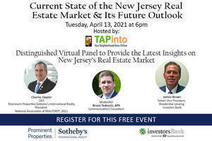 Tune in for to Panel Discussing New Jersey's Real Estate Market and It's Future Outlook