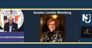 Longtime Bergen County State Senator Weinberg Set to Retire After Current Term