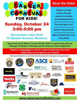 Countdown to Career Carnival for Kids