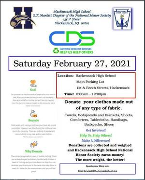 Carousel image e5ff6862dd640023f033 capture 2021 hackensack hs national honor society clothing drive for sat feb 27 2021
