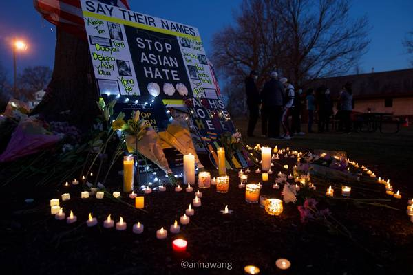 """www.tapinto.net: Hundreds Showed Solidarity at Millburn's """"Stop Asian Hate"""" Vigil and Rally"""