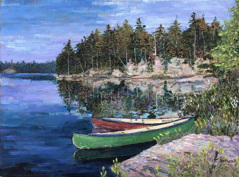 Top story 8a65f045a88bdc68bcfb ccm.tad deffler.canoes sunset