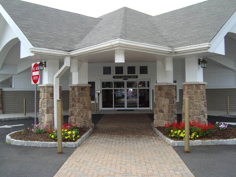 Center for Hope Hospice - Peggy's House front entrance.jpg