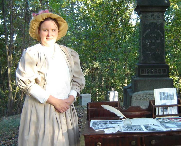 CemeteryTourChristineHenrietta.JPG