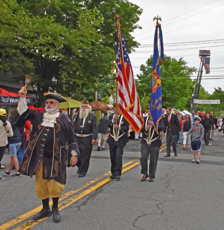 The opening of an earlier Charter Day