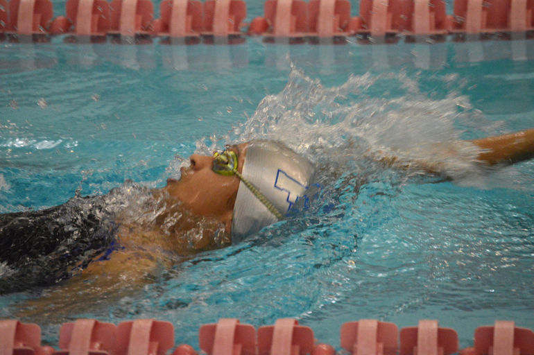 Chloe Howell wins the 100 Back 1-23-19.png