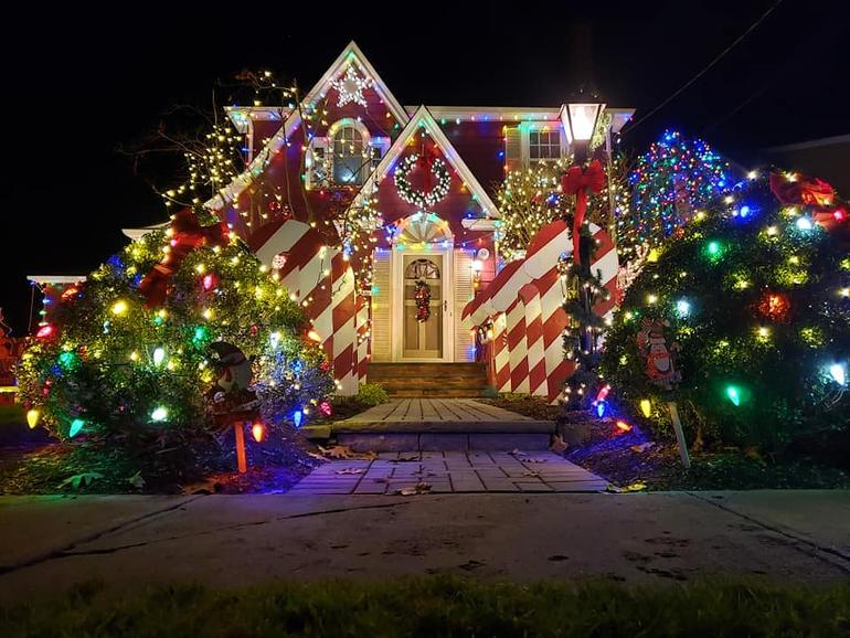 Fanwood's Famous Christmas House 2020.