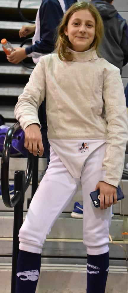 CHS Fencing Kat Xikes 2019.JPG