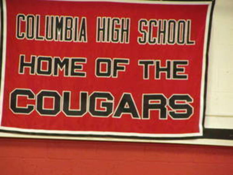 chs home of the cougars.JPG