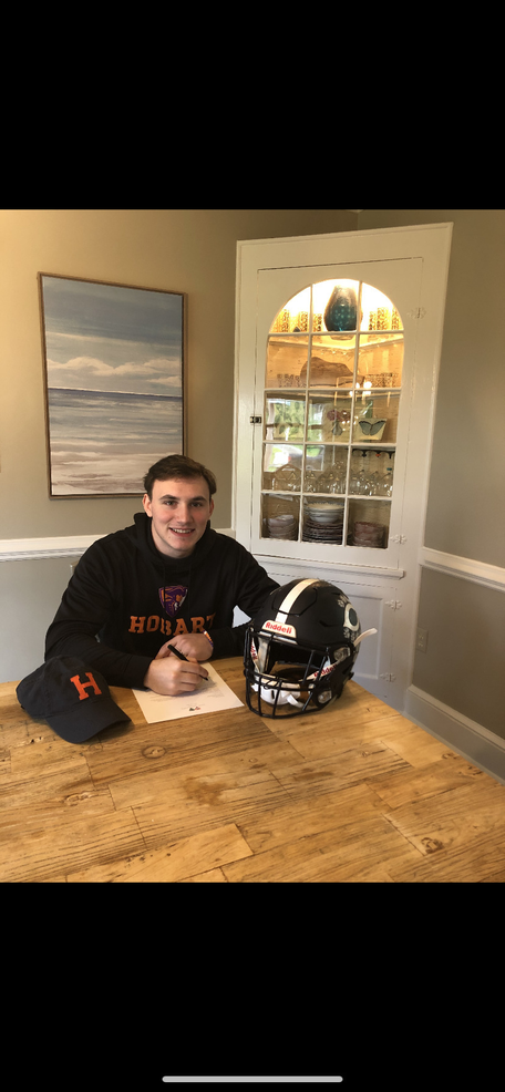 Charles Cuneo, Football, Division III, Hobart College.png