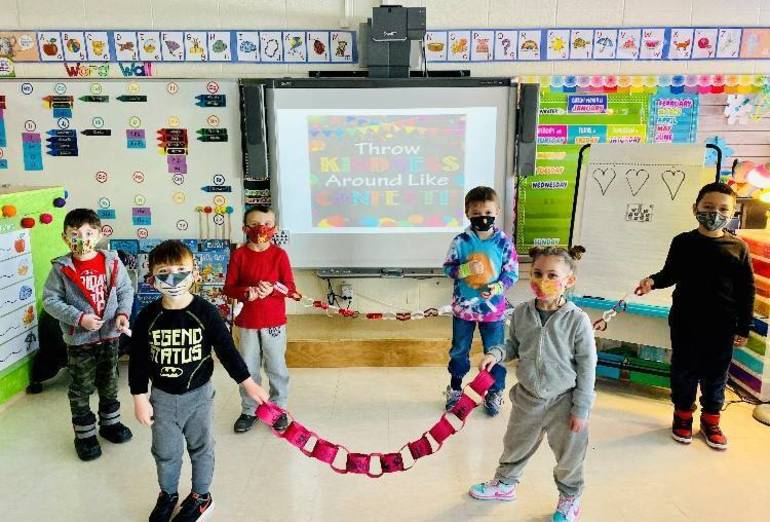 Mahopac Kids Take On The Great Kindness Challenge