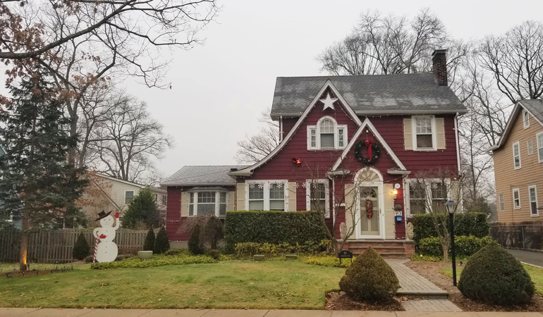 Fanwood's Famous Christmas House has put away the decorations until next winter.