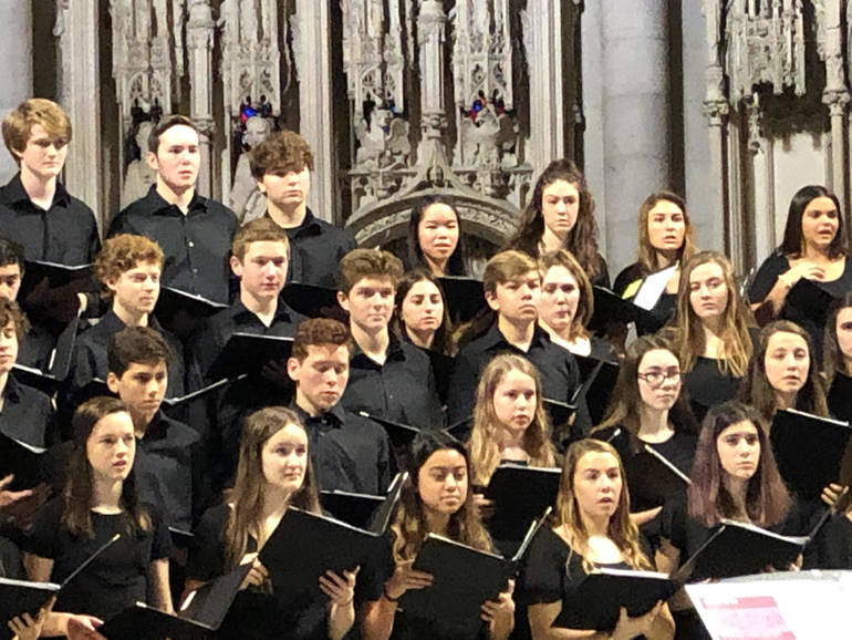 Select Choir Performing at Riverside Church