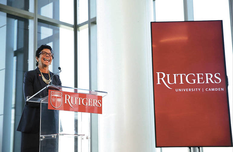 Outgoing Rutgers-Camden Chancellor On Legacy, Campus Monuments And What the Future Holds