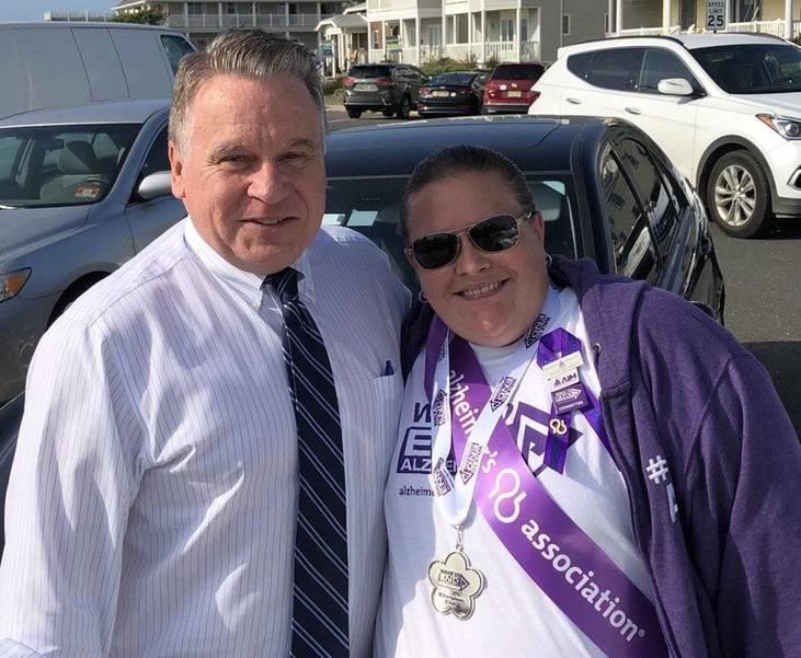 Alzheimer's Association Greater NJ Chapter -  Spotlights Volunteer Christine Hopkins