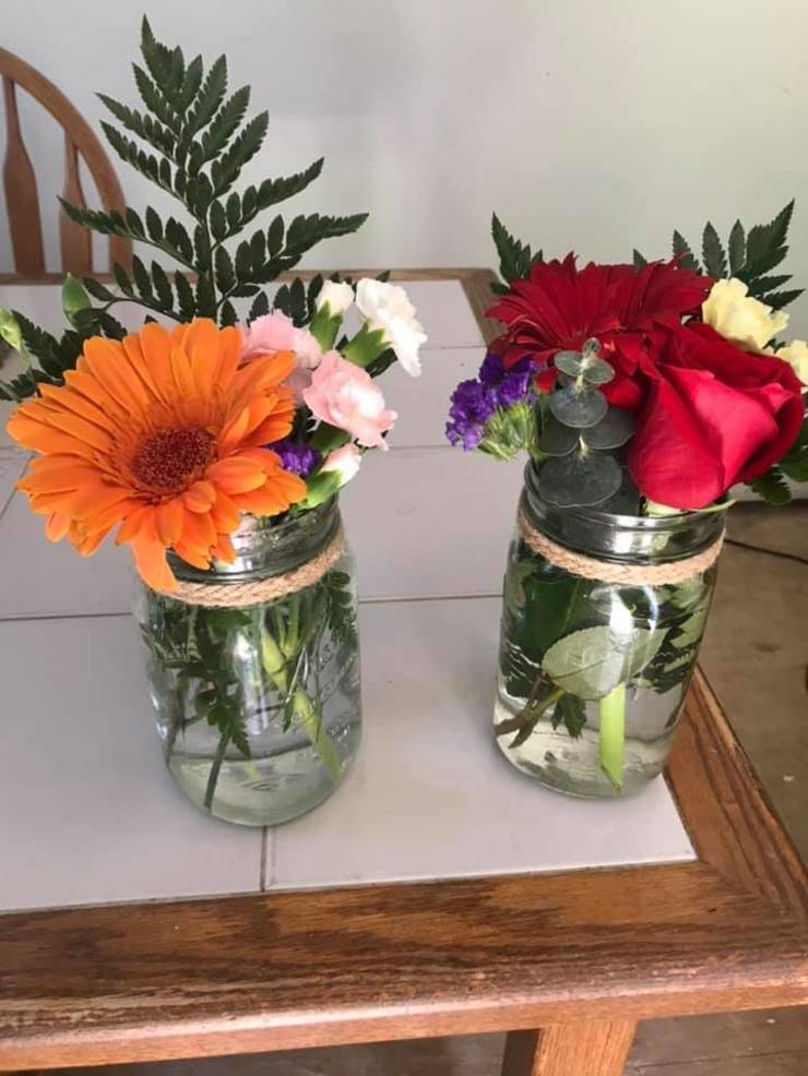 Livingston Mother and Daughter Spread Love with Anonymous Bouquets