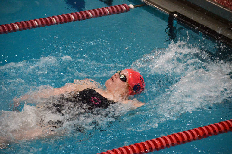 Kate Ziegler Places First in 100 Back