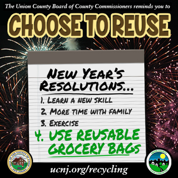 "Put ""Choose to Reuse"" on your 2021 To-Do List"