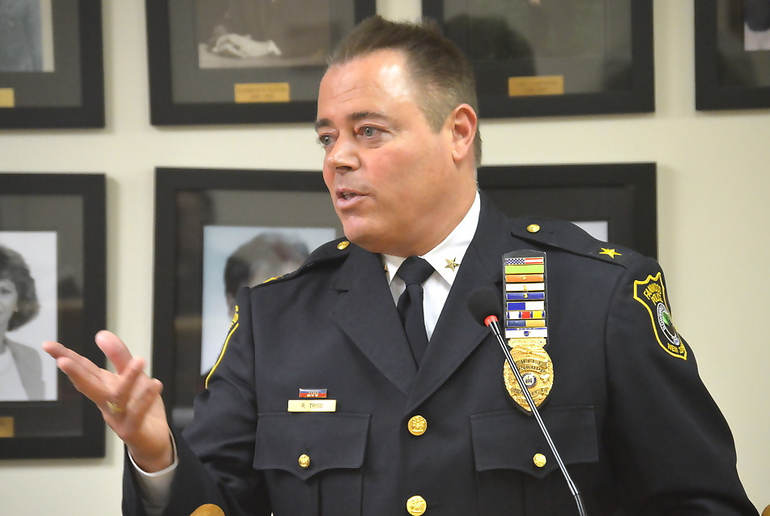 Fanwood Police Chief Richard Trigo