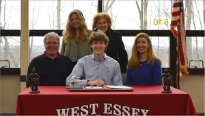Chris Housel of West Essex Soccer Team Makes College Decision