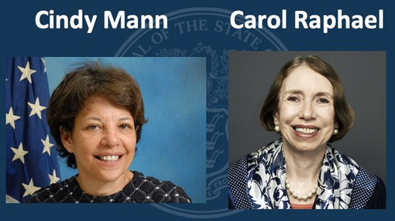 Cindy Mann and Carole Raphael.png