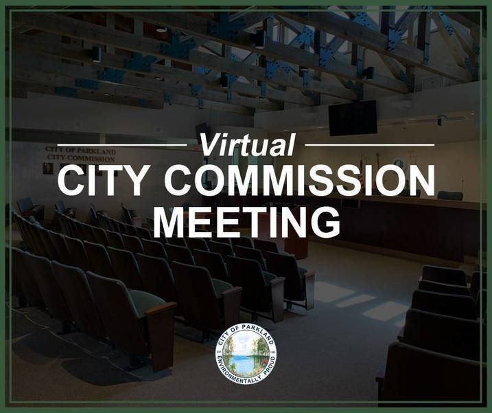 City Commission Virtual Meeting