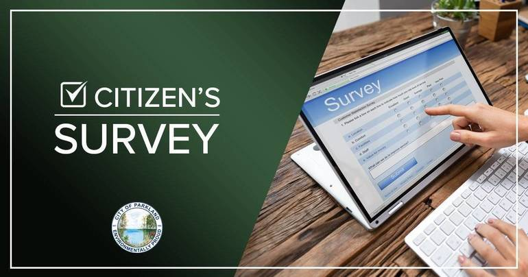 Parkland Conducting Citizen's Survey