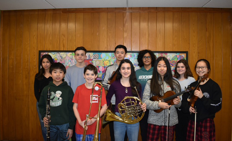 Honors Music Ensemble Students